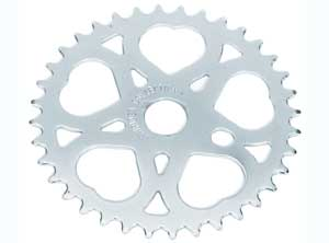 SWEET HEART SPROCKET 36T CHROME